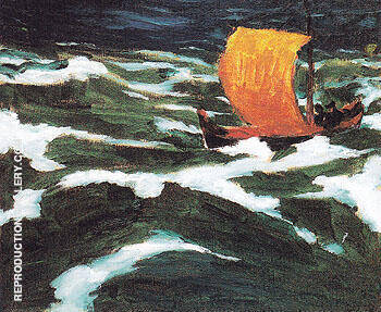 The Sea 1912 By Emil Nolde