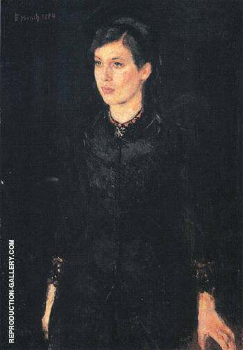 Sister Inger 1884 By Edvard Munch