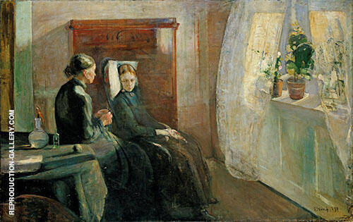 Spring 1889 By Edvard Munch Replica Paintings on Canvas - Reproduction Gallery
