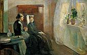 Spring 1889 By Edvard Munch