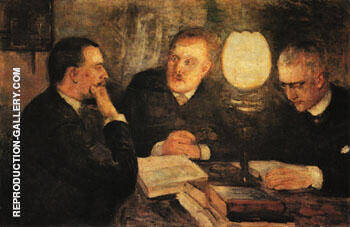 Jurisprudence 1887 By Edvard Munch - Oil Paintings & Art Reproductions - Reproduction Gallery