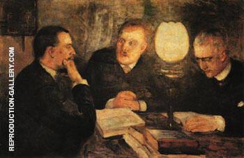 Jurisprudence 1887 By Edvard Munch