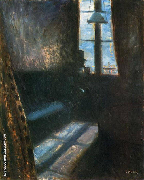 Night in St Cloud 1890 By Edvard Munch