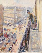 Rue Lafayette 1891 By Edvard Munch