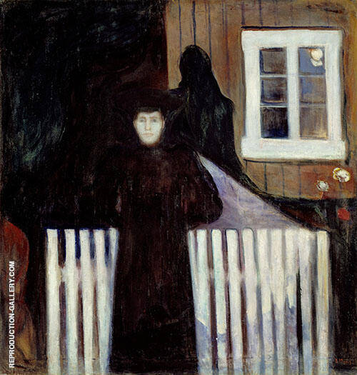 Moonlight 1893 By Edvard Munch