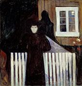Moonlight 1893 By Edvard Munch