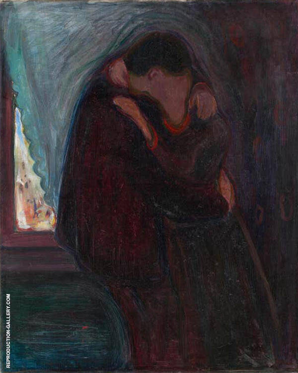 The Kiss 1897 By Edvard Munch