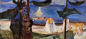 Summer Day from The Linda Frieze c1904 By Edvard Munch