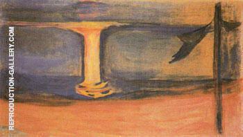 Asgardstrand from The Reinhardt Frieze c1906 By Edvard Munch