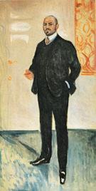 Walther Rathenau 1907 By Edvard Munch