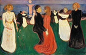 The Dance of Life c1899 By Edvard Munch