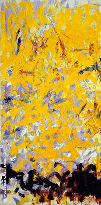 Reproduction of Minnesota 1980 1 by Joan Mitchell | Oil Painting Replica On CanvasReproduction Gallery