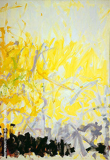Reproduction of Minnesota 1980 2 by Joan Mitchell | Oil Painting Replica On CanvasReproduction Gallery