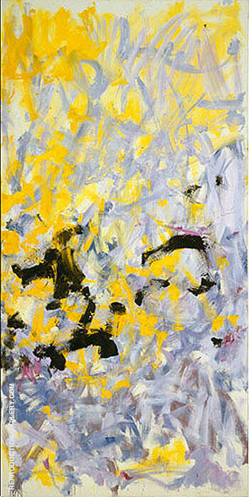 Minnesota 1980 4 By Joan Mitchell Replica Paintings on Canvas - Reproduction Gallery