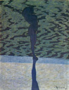 Bathing Woman 1910 By Leon Spilliaert