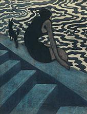 The Bather 1910 By Leon Spilliaert