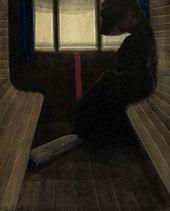 La Dame Dans Le Train By Leon Spilliaert