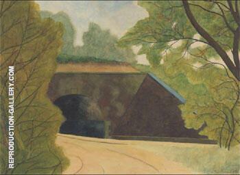 Le Tunnel By Leon Spilliaert
