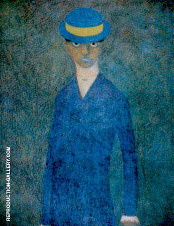 L'Ocuyene By Leon Spilliaert Replica Paintings on Canvas - Reproduction Gallery
