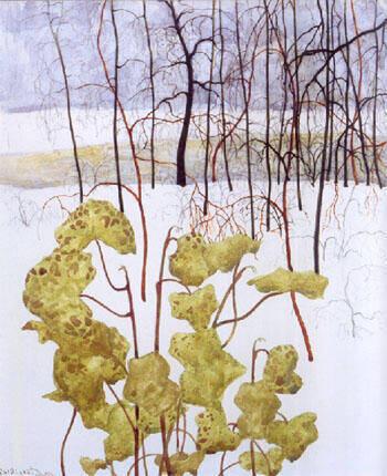Paysage Hivernal Au Lierre 1915 By Leon Spilliaert