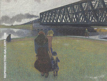 Spring 1911 Painting By Leon Spilliaert - Reproduction Gallery