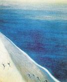 Retour du Bain 1908 By Leon Spilliaert