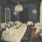 Salle de Tables Dhotes By Leon Spilliaert