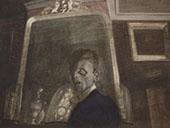 Self Portrait in Mirror By Leon Spilliaert