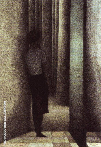 The Open Door 1945 Painting By Leon Spilliaert - Reproduction Gallery