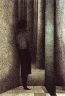 The Open Door 1945 By Leon Spilliaert