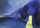 The Sea Wall Kursaal By Leon Spilliaert