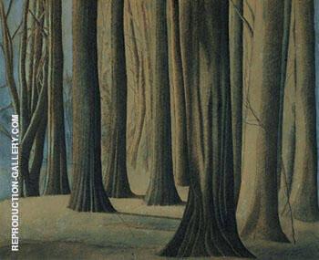 Troncs Boomstammen 1942 By Leon Spilliaert