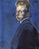 Self Portrait 1907 A By Leon Spilliaert