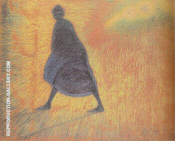 Evening in October 1912 By Leon Spilliaert Replica Paintings on Canvas - Reproduction Gallery