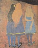 Girls Seen From the Back 1912 By Leon Spilliaert