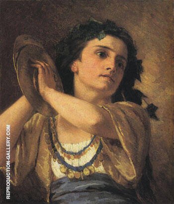Bacchante 1872 By Mary Cassatt - Oil Paintings & Art Reproductions - Reproduction Gallery