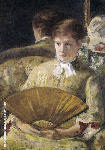 Portrait of a Lady 1877 By Mary Cassatt - Oil Paintings & Art Reproductions - Reproduction Gallery