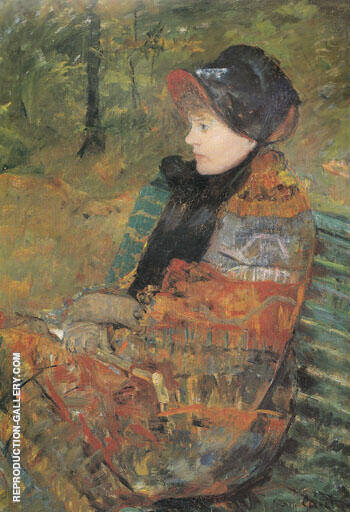 Autumm 1880 By Mary Cassatt - Oil Paintings & Art Reproductions - Reproduction Gallery