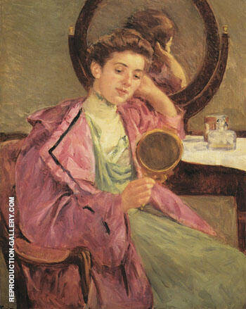 Woman at Her Toilette 1909 By Mary Cassatt