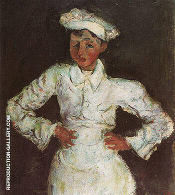 The Pastry Cook c1927 By Chaim Soutine Replica Paintings on Canvas - Reproduction Gallery