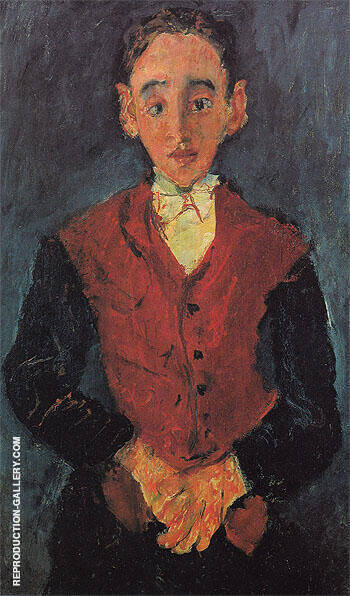 The Valet c1927 By Chaim Soutine