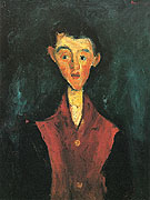 The Valet A c1927 By Chaim Soutine