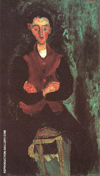 The Valet B c1927 By Chaim Soutine