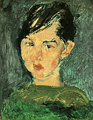 Girl in Green c1928 By Chaim Soutine