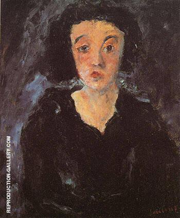 Portrait of a Woman c1929 By Chaim Soutine