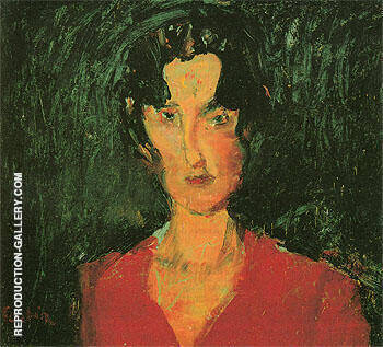 Lina c1929 By Chaim Soutine