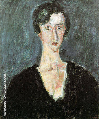 Portrait of Madeleine Castaing Maria Lani c1929 By Chaim Soutine