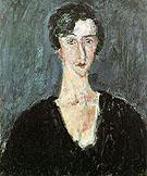Portrait of Madeleine Castaing Maria Lani c1929 By Chaim Soutine
