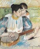The Banjo Lesson 1894 By Mary Cassatt
