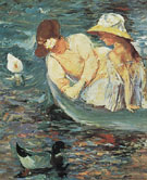 Summertime c1894 B By Mary Cassatt